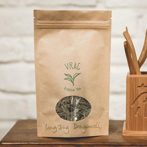 Thé en vrac de Chine Dragonwell - Thés Vrac Tea Shop - Collection Piha
